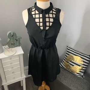 Material girl// caged dress size small